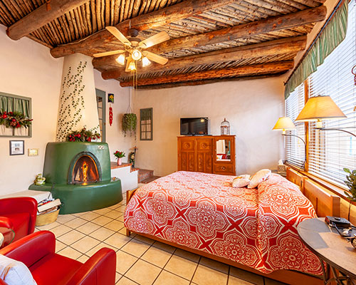 Bed and Breakfast Guest Rooms in Taos New Mexico